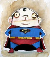 FAT SUPERMAN by UMINGA