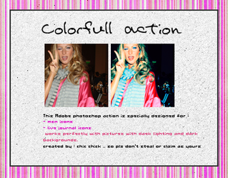 Colorfull Action by Chic-Chick