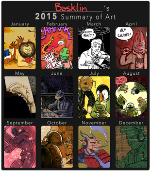 2015 Summary of Art by basklin