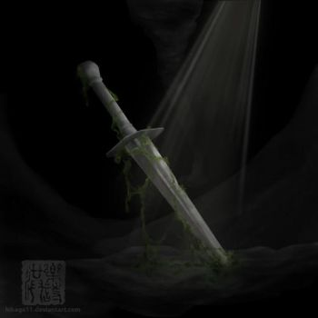 Sword - Paint Test by hikage11