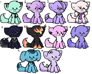 Cheap Adopts [5pts] **OPEN** by LovelyLittleAdopts