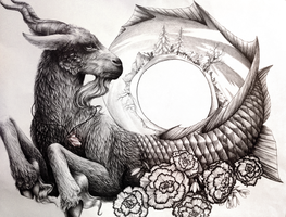 Capricorn (Zodiac Series) by Ink-River
