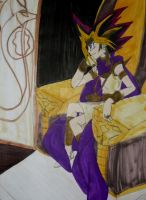 The Pharaoh With No Memories by InkArtWriter
