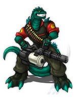 Heavy Weapons Goji by RFCreations