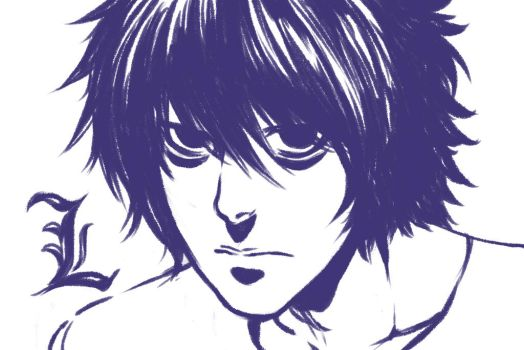L Lawliet by taitsujin