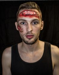 Quick FX make-up by MercPhotography