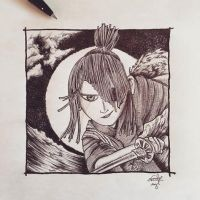 Kubo and the Two Strings by Nephellim