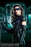 Arrow S6 First Look at New Black Canary Suit by Artlover67