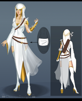 (closed) Outfit / OC Adopt - White Arrow by CherrysDesigns