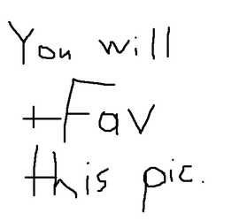 You Will +Fav This Pic by Larathen