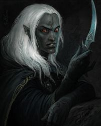 Drow by Julaxart