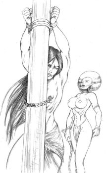 06 ANJA face to the pole by Jungle-Queen