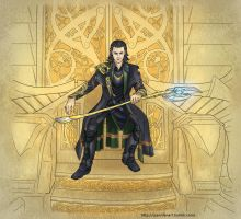 Loki: King without a crown - Colored by Soul-Invictus