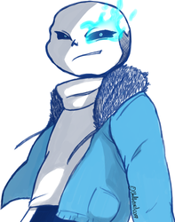 SANS! by ChellizardDraws