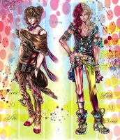New Charas: Levia and Lich by Goay