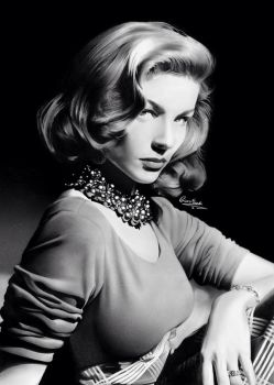 Lauren Bacall by Liam J. York by MrYorkie