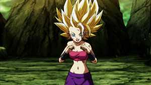 Califula SSJ2 Boxing by Mauri094