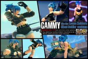SSF4AE Cammy - Leona's costume MOD v1.5 by dsFOREST