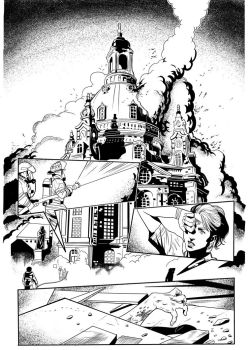 Lineart  Red Agent#2 Pg02 by EmanuelBraga