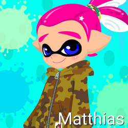 Matthias (14 Years Old, Inkling Form) by Brightsworth-Heroes