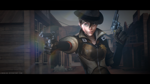 Tracer (Sheriff) - Hands up! (Updated) by lemon100