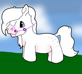 Chibi FullBody With Back Ground and Halter for Cas by mylastaccount