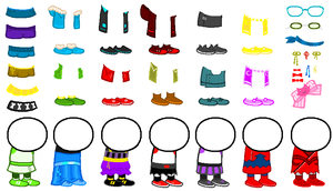 F2U homestuck sprite resources by Thefantrolls