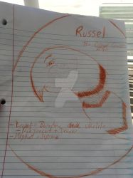 Russell me Up b4 you go go~ by RuneTheSergal