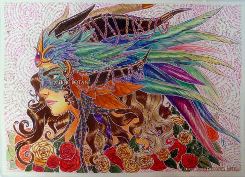 The Dragon Queen by CelticBotan