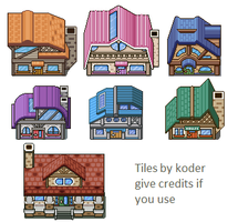 Compilation of buildings by KOD-3R
