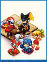 Megaman tribute by CamiFortuna