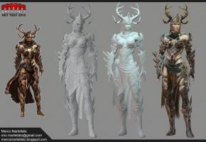 Arenanet Art Test 2014 by TerronViking