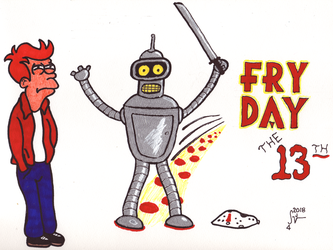 Fry Day the 13th by sjvernon