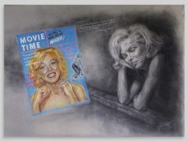 Marilyn Monroe by Caricatureart
