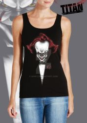 The Clown  Tank Top by SHWZ