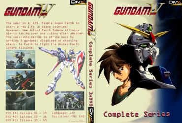 Gundam Wing series DVD custom by slavomiros