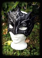 Swirly Mage Mask by Feral-Workshop