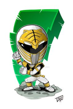 White Ranger by 2TailZ9