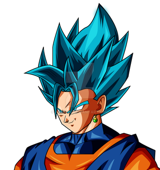Vegito Dragon ball super palette 1 by AL3X796