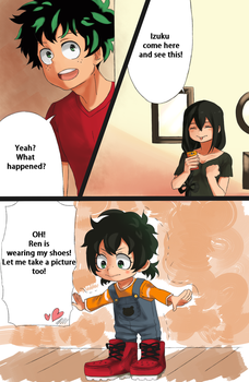 Filling his shoes by Akeemi-chan