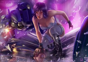 Ghost in the Shell: Night Raid by Raphire