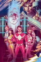 Mighty Morphin Power Rangers by jeanluccas
