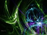 Fractal: Cool Colors by NikidaEve