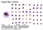 RPG Maker MV Battler - Magical Object: Grimoire by ShadowHawkDragon
