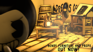 Bendy Furniture and Props Preview Image by Fer-Ge