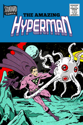 Hyperman Mockup Cover by roygbiv666