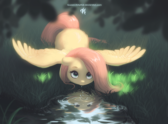 Don't fly away! by Queen-KittyKat
