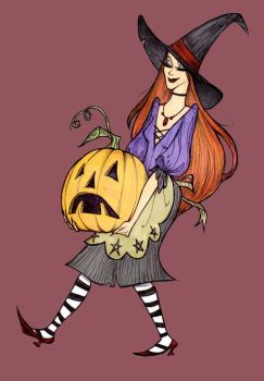 Pumpkin Wicked This Way Comes by Noxfae