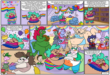 And So On... 3:29 - Pride Month by poundforpoundcake