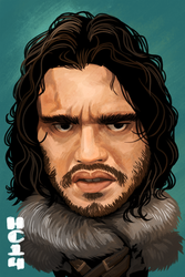 Jon Snow by hamdiggy